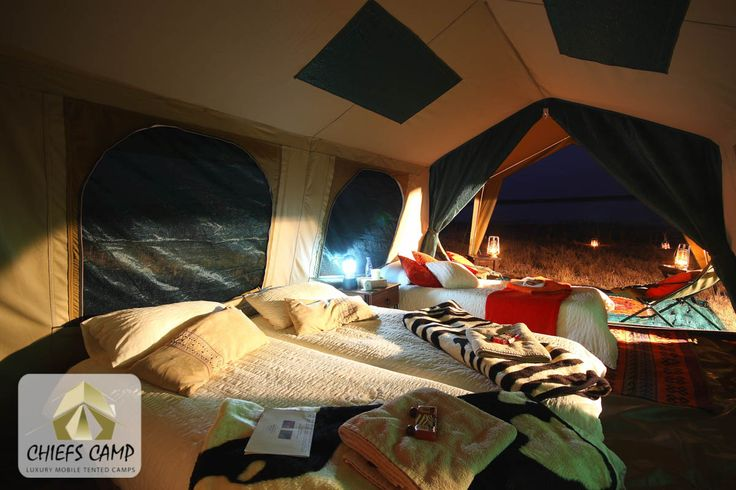 Chief's Luxury Mobile Tented Camps - Luxury Tent
