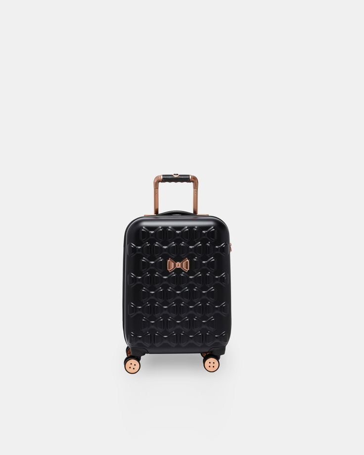 Ted Baker Bow detail small suitcase Black