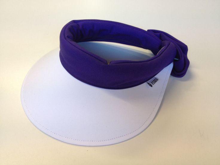 Precious Cargo Regular brim visor, in white/purple