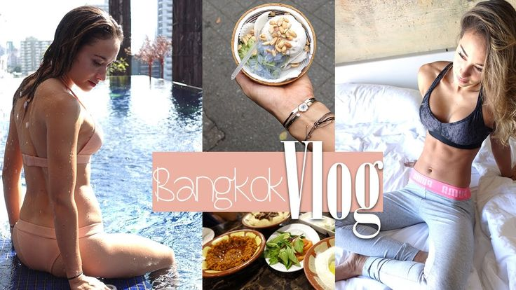 Bangkok Vlog - Rooftop Dinner - Traumpool - Fressorgie - Food Diary - Da...
