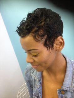 Groovy 1000 Images About Textured Short Hair On Pinterest Black Women Short Hairstyles Gunalazisus