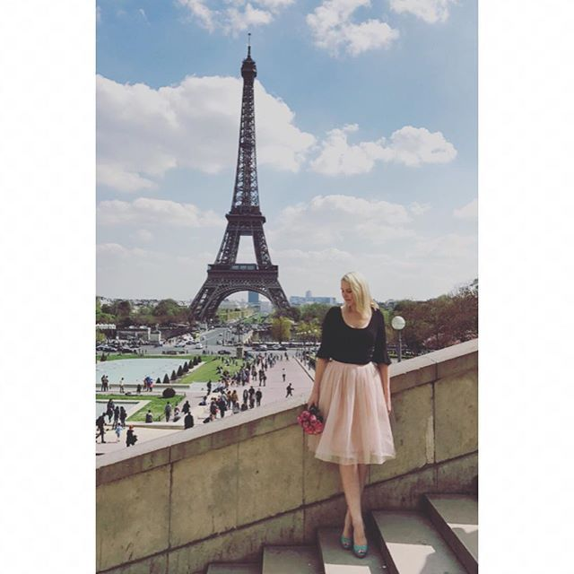 Sally Bay -paris -france -model -eiffel tower -pink -tulle -ballet -roses -pink -travel -heels -mint -view -styling -photography -french