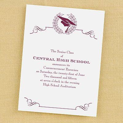 17 best Home Schooling Graduation Announcements Invitations images - graduation programs
