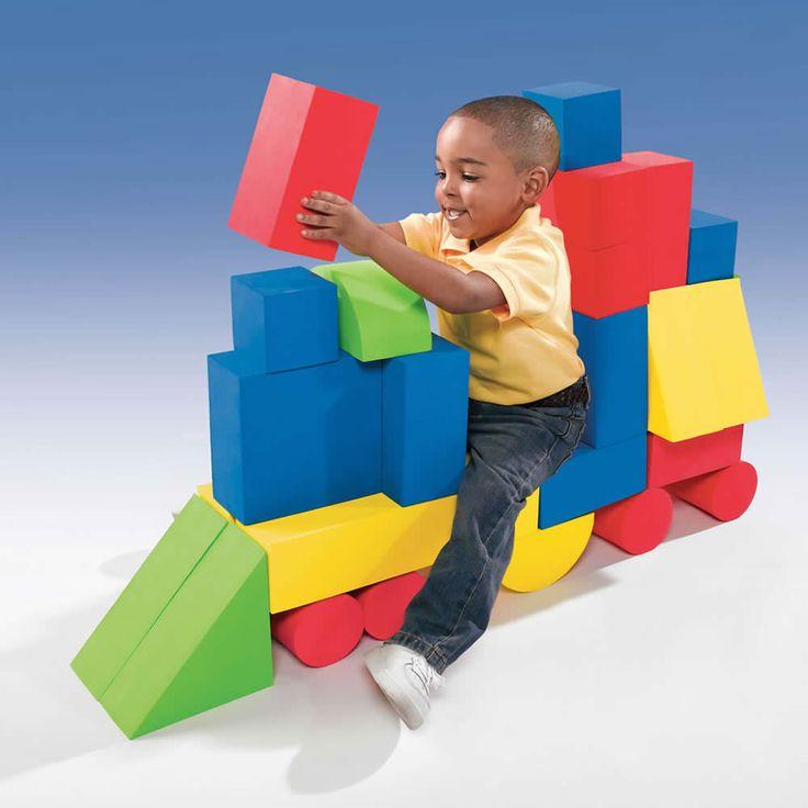 Soft Sturdy Giant Foam Blocks By Step2 Playspace