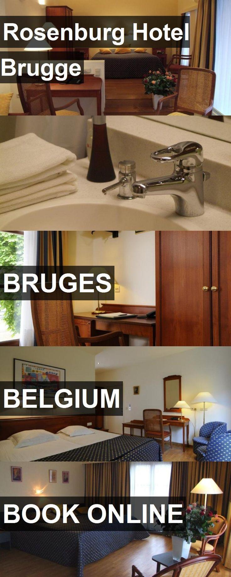 Hotel Rosenburg Hotel Brugge in Bruges, Belgium. For more information, photos, reviews and best prices please follow the link. #Belgium #Bruges #RosenburgHotelBrugge #hotel #travel #vacation