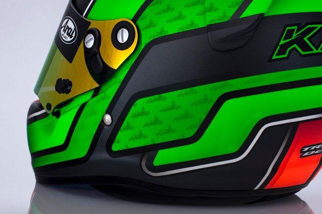 Racing Helmets Garage: Arai SK-5 K.Leesma 2013 by Tribilia Design