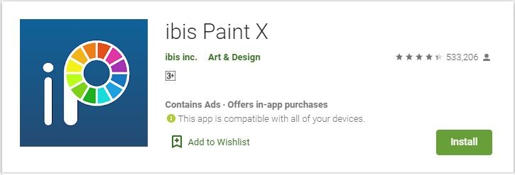 Download ibis Paint X For PC Free On Windows 10, 8, 7