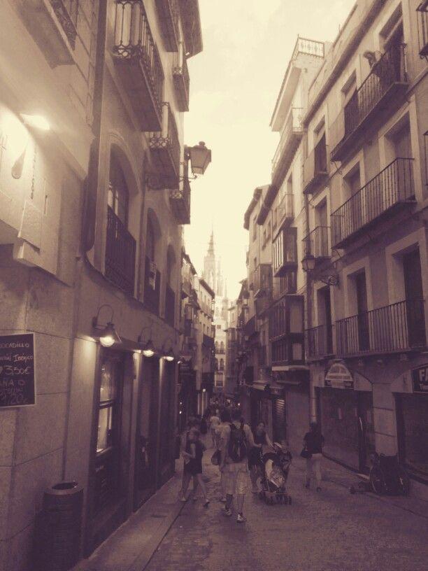 Calle toledana.