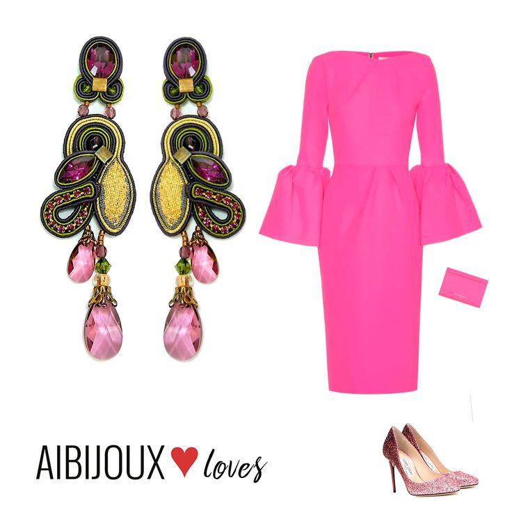 Il nostro outfit con #DoriCsengeri  #AIBIJOUXloves #fashionjewelry #gioiellidautore