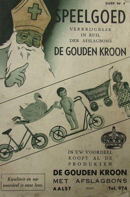 Sinterklaas spelgoedfolder jr. 30