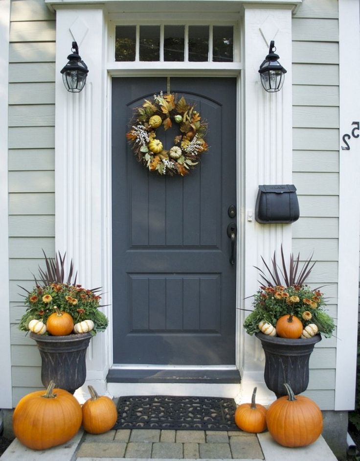 Pin On Fall Front Porch Decor
