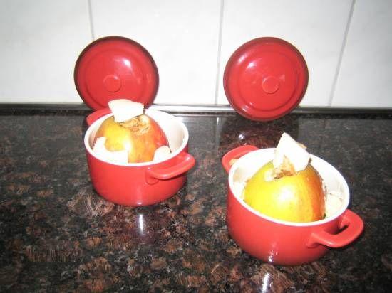 Gevulde Appels Met Stroopwafel En Mascarpone