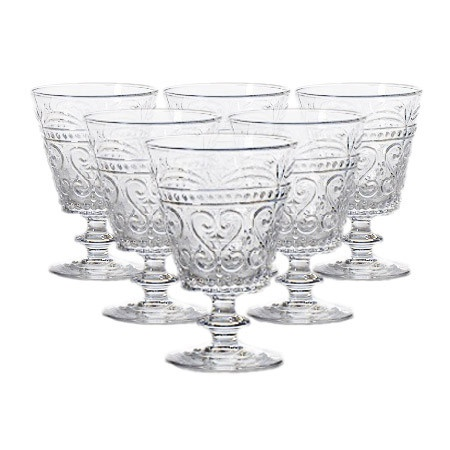 Provenzale Wine Glass in Transparent