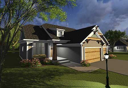 Plan 89987ah craftsman with open concept floor plan for Open concept craftsman house plans