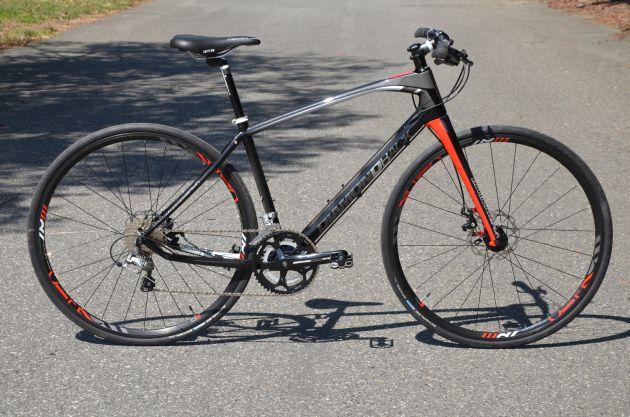 Room in the quiver for another bike? Yes, I think so... Diamondback Interval Carbon Flat Bar Road Bike #bikegraphics