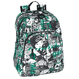 Back to School :: Gabol Type Multi Backpack - Harlequin School Bags – #backtoschool #boysbackpacks #backpacksforboys #school #BST