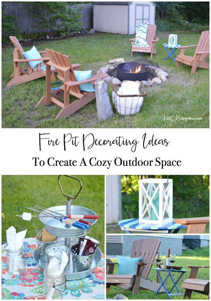 81 best small home patios and porches images on pinterest outdoor spaces outdoor living and - Types fire pits cozy outdoor spaces ...