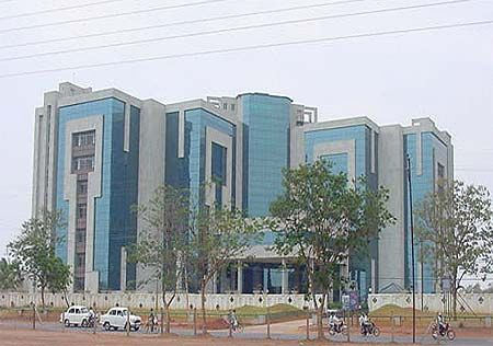 The Fortune Towers in Bhubaneshwar housing some of the IT and Telecom firms,