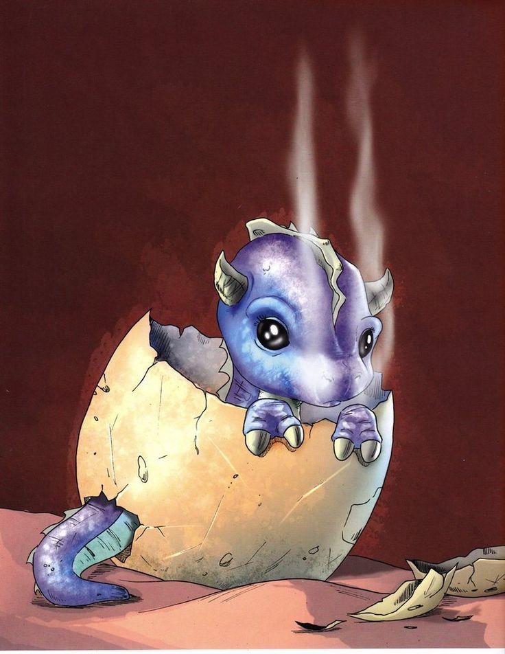 Chris Hart - Baby Dragon by ~Christopher-Hart on deviantART