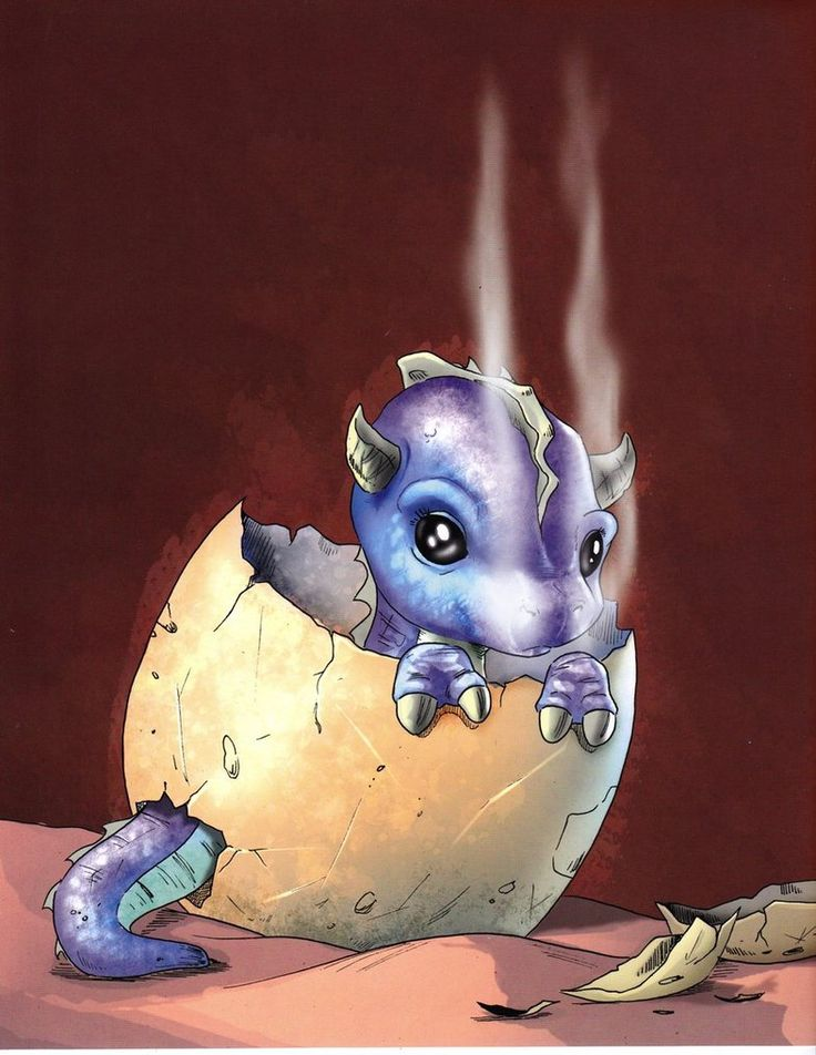 Chris Hart - Baby Dragon by ~Christopher-Hart on deviantART