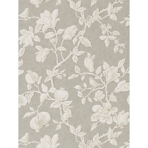 Buy Sanderson Magnolia and Pomegranate Wallpaper Online at johnlewis.com