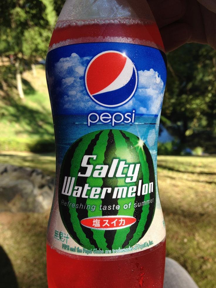 Pepsi salty watermelon
