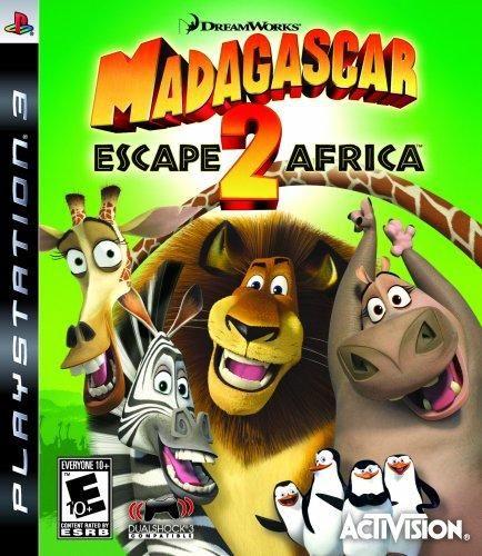 Madagascar 2: Escape 2 Africa - Playstation 3