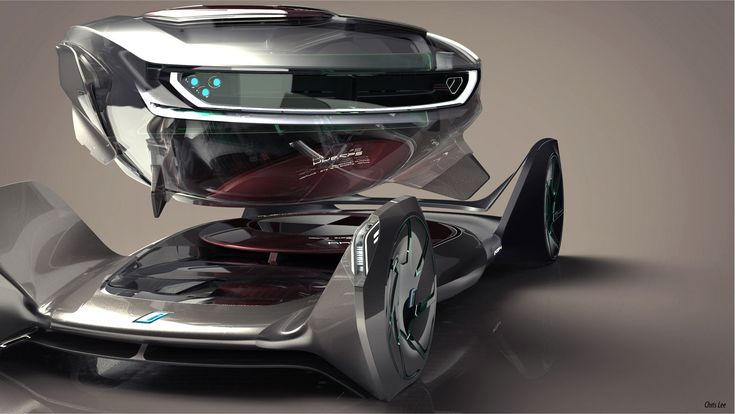 BMW iQ Concept by Chris Lee - Rendering