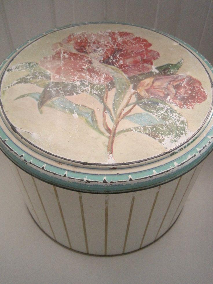 FINN – Vintage Kakebokser Sett av 3
