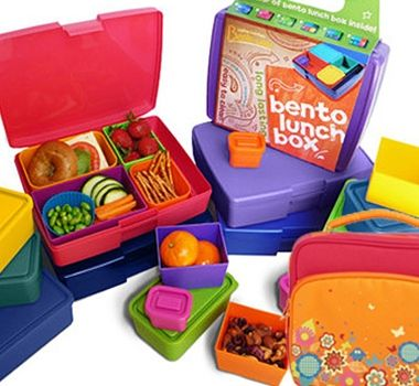 Mix and Match Bento Lunch Systems in new colors and designs! BPA-Free Bento Boxes, Buddies and Carriers for waste-free lunch packing! #LunchBoxes. #MadeintheUSA