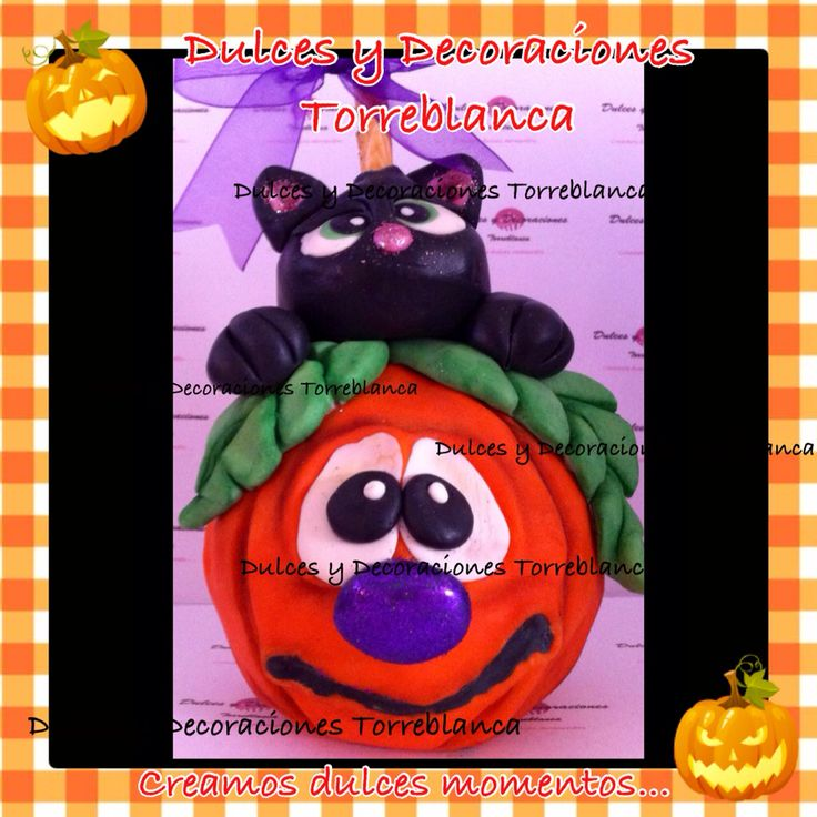 Manzana de gato con calabaza chocoplastilina informes de curso al 5567023311