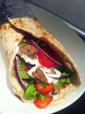 Evas Køkken: Durumrulle med shawarma