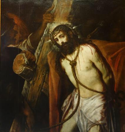 Jesús camino del Calvario  1620 Autor: Juan de Roelas
