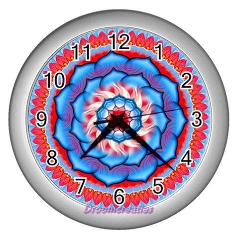 Wall clock Rosette http://www.artravesupercenter.com/droomcreaties/?SectionCode=@Erin Whatley Lockerman