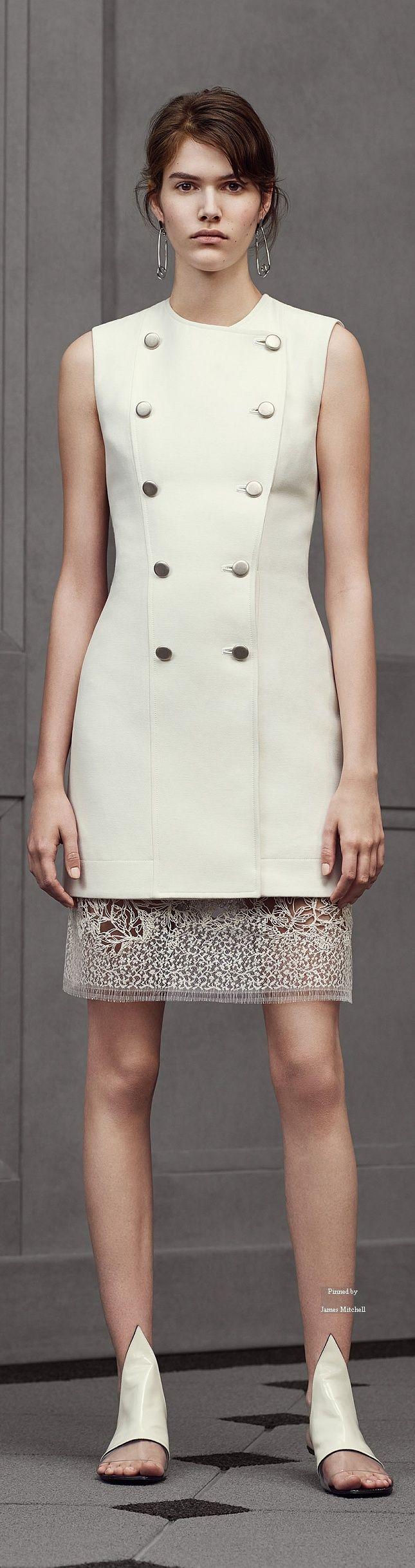 Balenciaga Pre Spring 2016 collection women fashion outfit clothing style apparel @roressclothes closet ideas