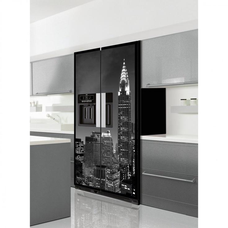 Oltre 25 fantastiche idee su frigoriferi su pinterest - Coolors pannelli cucina ...