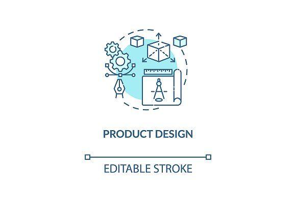 Product Design Concept Icon Concept Design Design Line Illustration