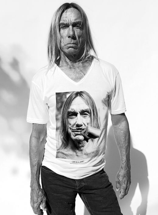 A true testimonial and nothing artificial. The Iguana is true as his wrinkled skin and old dart under which the muscles nimble as ever. Iggy Pop will be the next face of Eleven Paris.
