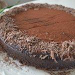 Chocolade dessertaart, een droom voor chocoladeliefhebbers