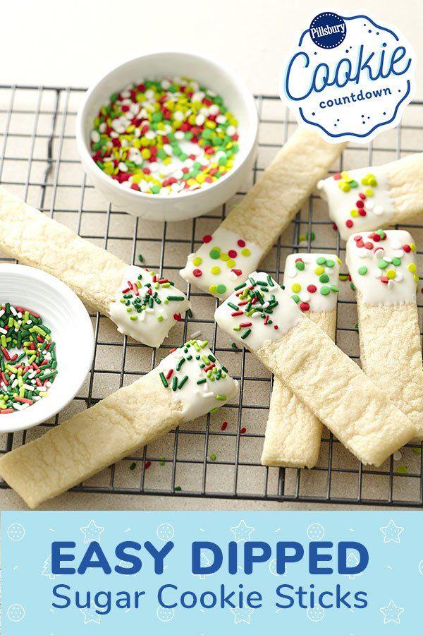 Sugar Cookie Sticks House Cookies