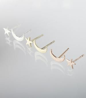 catbird's star and moon earrings - chasing saturdays
