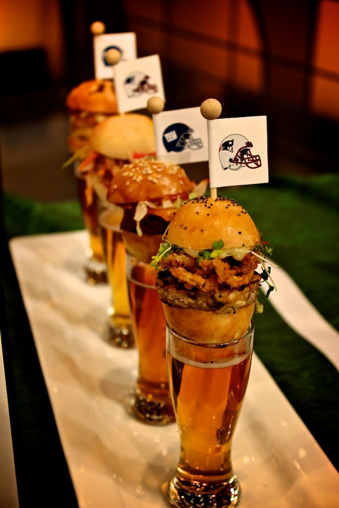 Beer and Sliders. A Perfect Event.