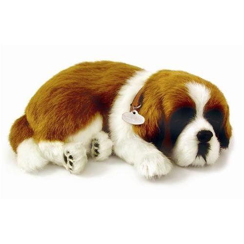 Totally cute plush Saint Bernard for anyone who would like a Saint without the drool.