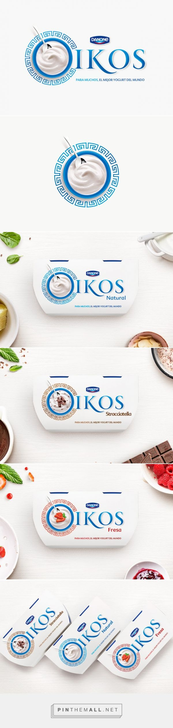 Danone Oikos #Yogurt #Concept by Diego Frayle & Maria Andrea Galindo - http://www.packagingoftheworld.com/2015/01/danone-oikos-student-project.html