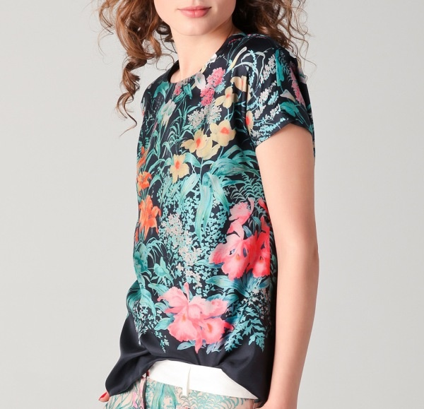 Florals are excellent for Spring. Cute and girly!