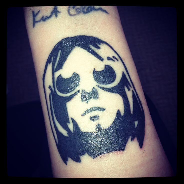 Kurt Cobain Tattoo :) | identify | Pinterest | Kurt cobain ...