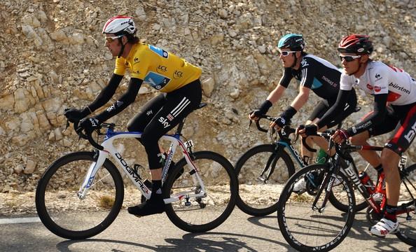 Bradley Wiggins Photo - Paris-Nice - Stage Six: Suze-la-Rousse to Sisteron