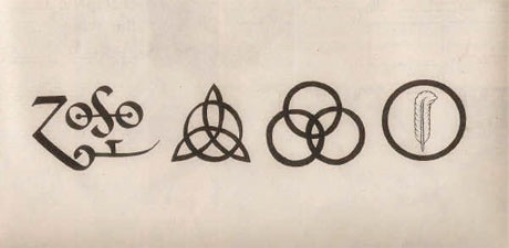led zeppelin IV symbols