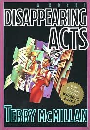 Disappearing Acts by Terry McMillan: Book Cover