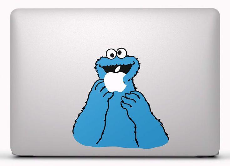 Pegatinas: Monstruo de las galletas Vinilo, pegatina, adhesivo para portátil, Mac, o Macbook. #vinilosportatil  #vinilosmac #vinilosmacbook